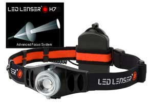 Power Stirnlampe LED Lenser H7